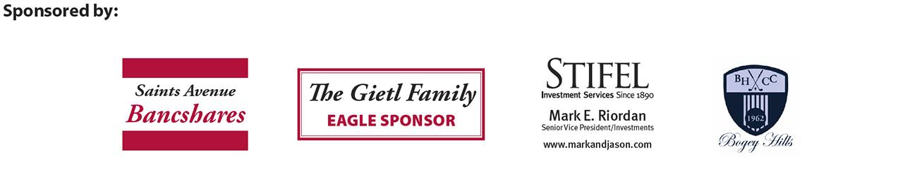 2018 Golf Event Sponsors